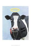 Holy Cow Reproduction d'art par Fab Funky