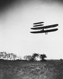 Wright Airplane Flying