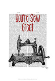 You're Sew Great Illustration