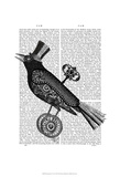 Steampunk Crow