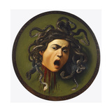 Medusa  Painted on a Leather Jousting Shield  C1596-98