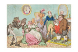 Leaving Off Powder  or a Frugal Family Saving the Guinea  Published by Hannah Humphrey in 1795