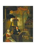 The Sleeping Congregation  1728
