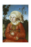 Portrait of a Jurist's Wife  1503
