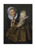 Catharina Hooft with Her Nurse  C1619-20