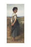 The Young Shepherdess  1885