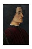 Portrait of Giuliano De Medici  1478