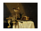 Still Life with Nautilus Goblet  1642