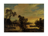 Landscape with Canal  1643
