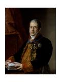 Portrait of Juan Miguel De Grigalba  C1835