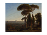 Rome with St Peter's and the Castel Sant'Angelo  C1821