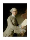Portrait of James Adam  1754