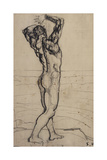 Male Nude  Study for the Truth; Mannlicher Akt  Studie Zur Wahrheit  C1902