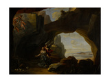 The Magdalen in a Cave  C1650