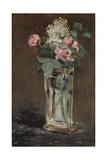 Flowers in a Crystal Vase