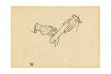 Hand Study  Dr Viktor Ritter Von Bauer  1917