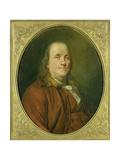 Portrait of Benjamin Franklin  C1780-90