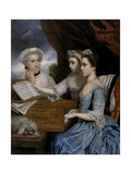 Mrs Paine and the Misses Paine  1765