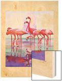 """""""Pink Flamingos """"January 29  1938"""
