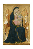 Enthroned Madonna with Child  C1340