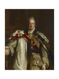 Portrait of King William Iv  Wearing the Robes of the Garter  C1831