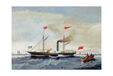 The Steam Tug 'Alfred' Off Tynemouth  C1856