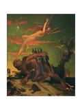 Ariel and Caliban  1837