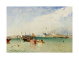 The Harbour  Littlehampton  1851