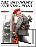 """Important Business"" Saturday Evening Post Cover  September 20 1919"