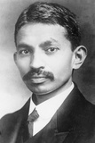 Portrait of a Young Mahatma Gandhi