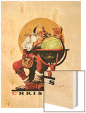 """Santa at the Globe""  December 4 1926"