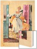 """The Lady's Future - Saturday Evening Post """"Leading Ladies""""  February 6  1954 pg34"""