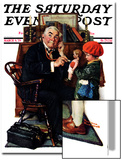 """Doctor and the Doll"" Saturday Evening Post Cover  March 9 1929"