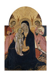 Madonna and Child with Two Angels  C1440
