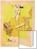 "The Man Who Scorned Christmas - Saturday Evening Post ""Leading Ladies""  December 19  1959 pg29"
