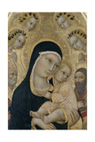Madonna and Child with Angels and Saints  C1450