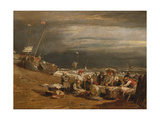 A Fishmarket on the Beach  C1802-04