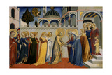 Mary's Homecoming from the Temple  C1448-51