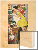 "Late in Love - Saturday Evening Post ""Leading Ladies""  November 22  1958 pg30"