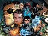Secret Warriors No1 Cover: Nick Fury  Slingshot  Quake  Hellfire and Stonewall