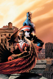 Captain America & The Falcon No5 Cover: Captain America and Falcon