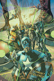 Ultimates 2 No7 Cover: Captain America  Iron Man and Ultimates