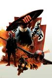 Captain America 6 Cover: Captain America and Baron Zemo