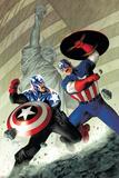 Captain America No40 Cover: Captain America