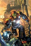 Ultimate Comics Armor Wars No1 Cover: Iron Man