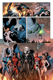 Dark Avengers No7 Group: Emma Frost  Wolverine  Mimic  Weapon Omega and Dagger