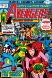 Avengers No147 Cover: Scarlet Witch