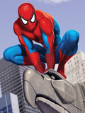Spider-Man In the City on Gargoyle