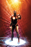 Invincible Iron Man No14 Cover: Iron Man