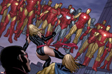 The Mighty Avengers No4 Group: Ms Marvel and Iron Man